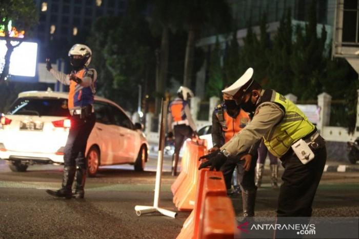 Malam Tahun Baru, Polisi Tutup 5 Ruas Jalanan di Inti Kota Medan