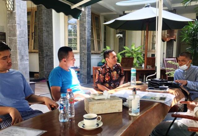 Kabarkan Program Rumah Qur'an, BMH Audiensi kepada Wagub Sumatera Utara