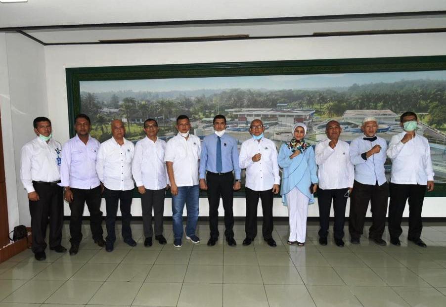 Direksi PDAM Tirtanadi Terima Kunjungan Kompatir