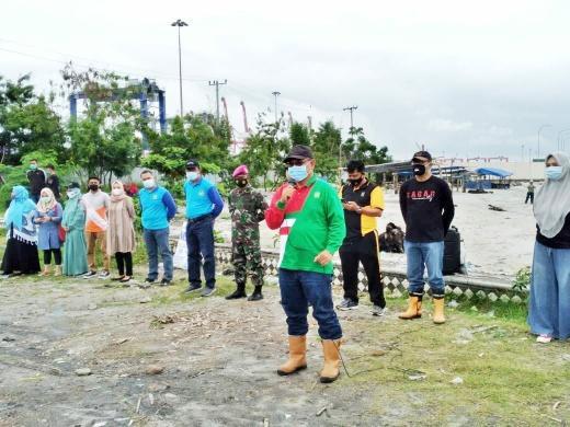 Plt Wali Kota Medan Himbau Masyarakat Untuk Menjaga Kebersihan Pantai