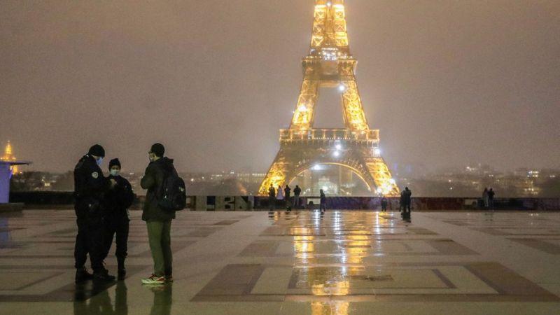 Covid-19 Eropa: Prancis terapkan jam malam, Austria perpanjang lockdown