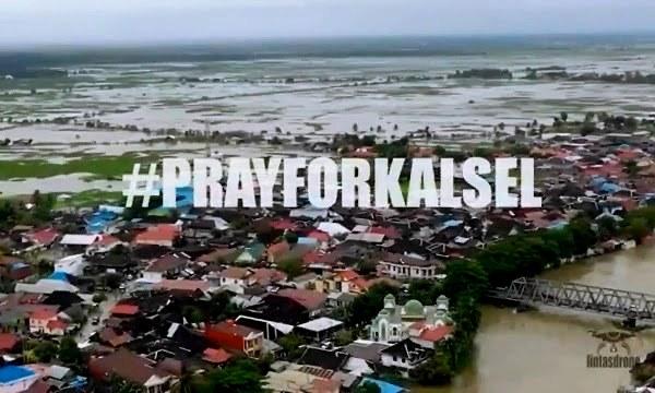 Berkurangnya Area Hutan  'picu' Banjir terbesar di Kalimantan Selatan