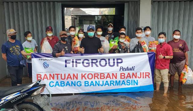 FIFGROUP Melanjutkan Salurkan Bantuan Korban Banjir dan Gempa di Indonesia