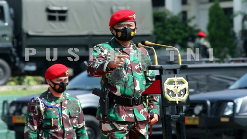 Panglima TNI Mutasi 50 Perwira Tinggi, Siapa saja?