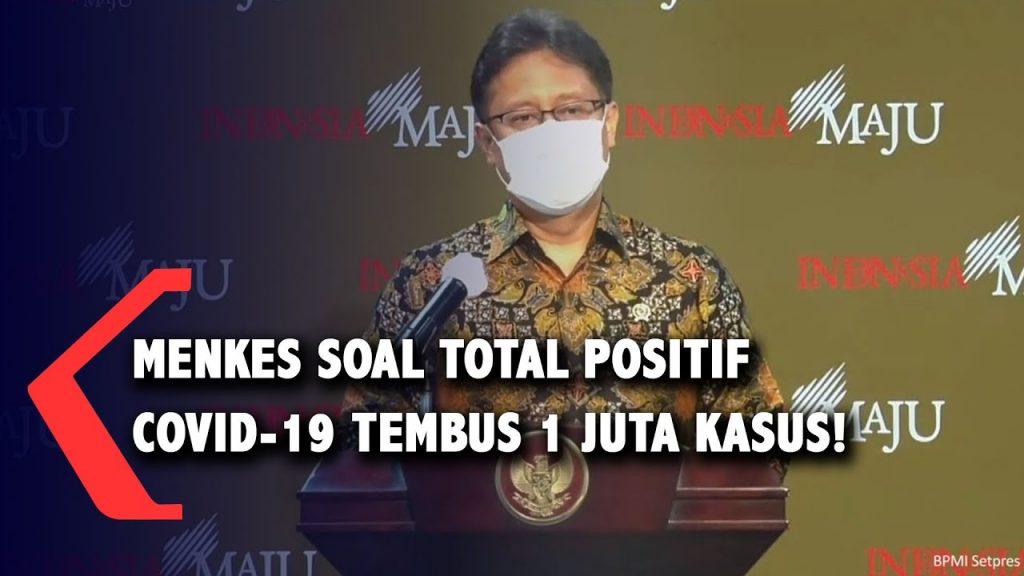 Setelah 1 juta kasus positif Covid-19 di Indonesia terlampaui