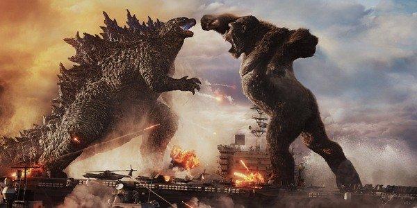 Dua Raksasa Legendaris Bertarung di  Godzilla vs. Kong