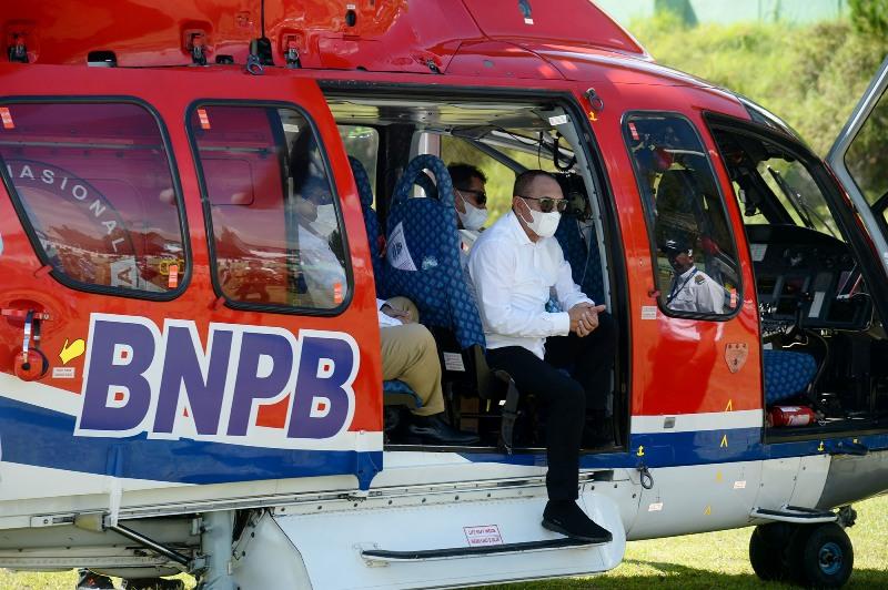Gubsu Edy Bantu Korban Bencana di Taput