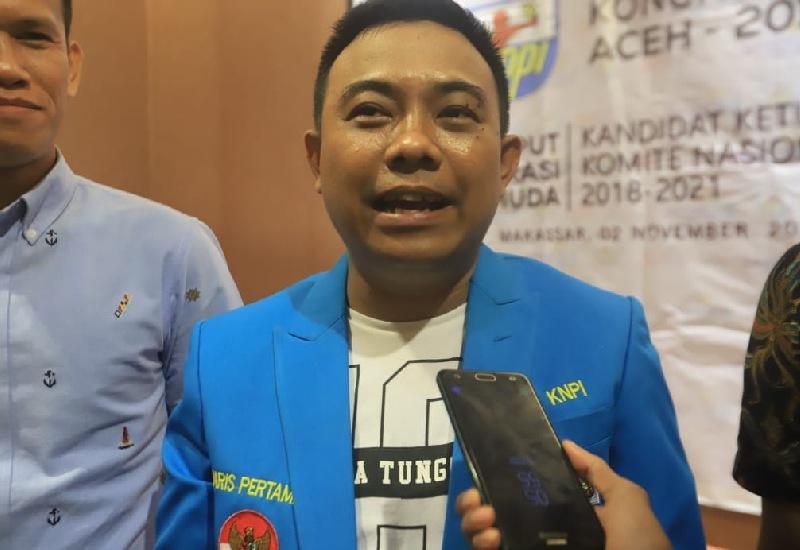 Ketua DPP KNPI Haris Pertama Tantang Polisi Tangkap Abu Janda