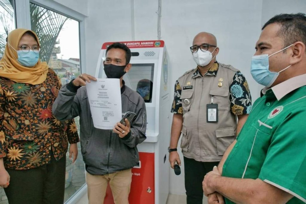 Pemko Medan Resmikan Mesin Anjungan Dukcapil Mandiri (ADM)