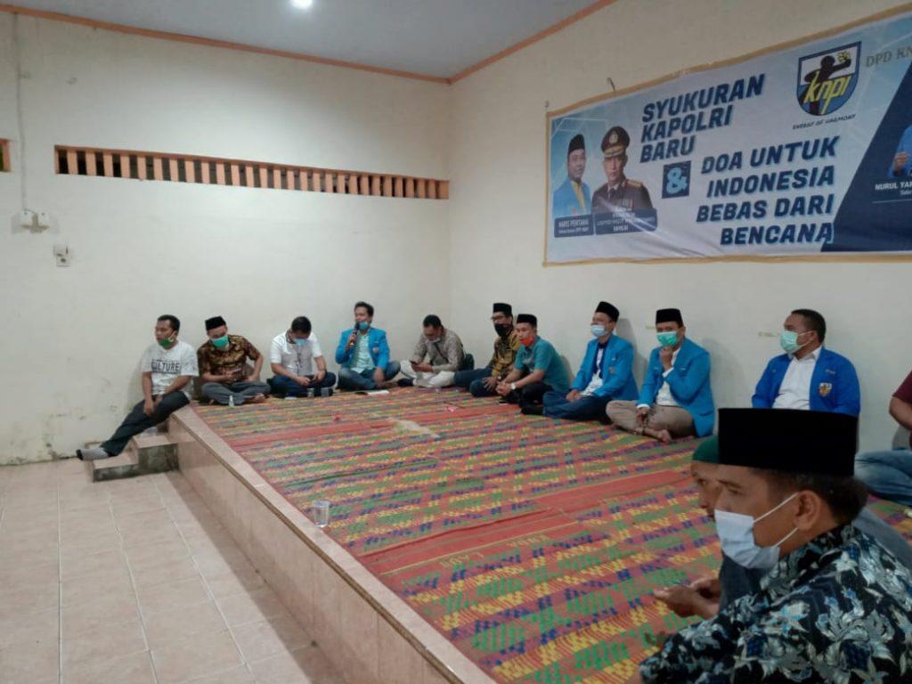 Kapolri Baru, KNPI Sumut Gelar Syukuran dan Doa Bersama Anak Yatim