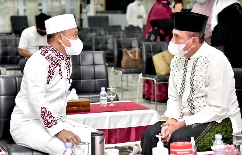 Ustad Das'ad Latif Mengaku Kagumi Sosok Gubernur Seperti Edy Rahmayadi