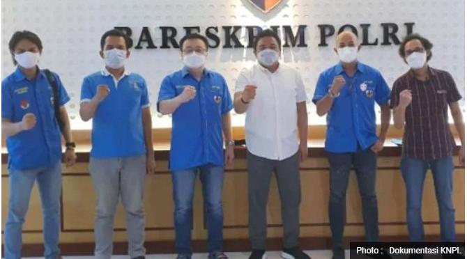 DPP KNPI Kembali Laporkan Abu Janda ke Polisi, Kali Ini Soal Islam Arogan