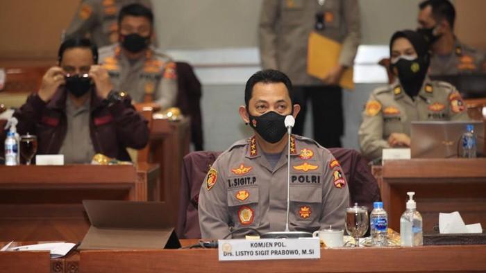 Jokowi Lantik Listyo Sigit Prabowo Jadi Kapolri Hari Ini