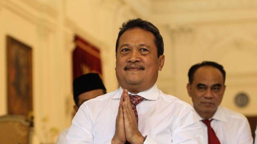 Menteri Kelautan dan Perikanan Wahyu Trenggono Akan Allout Kembangkan Budidaya Lobster Dalam Negeri