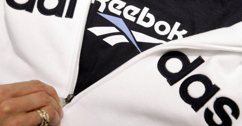 Adidas Berlari tanpa Reebok