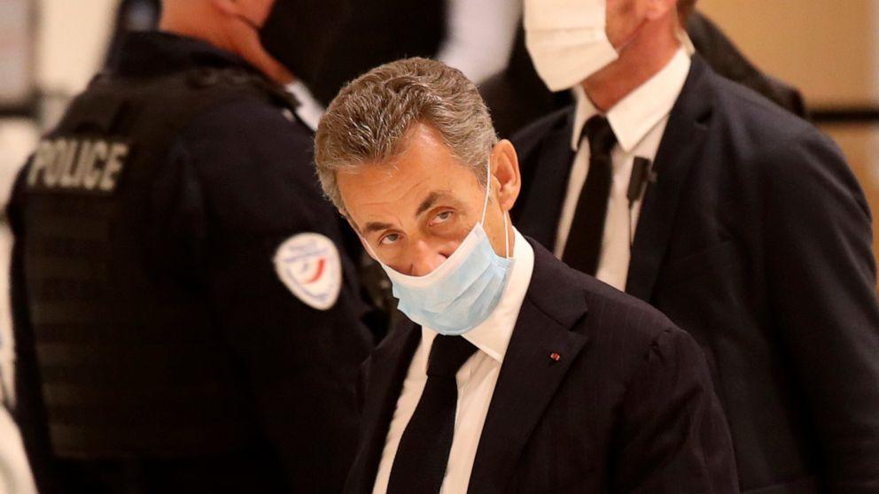 Mantan Presiden Prancis Dijatuhi Hukuman Penjara 3 Tahun