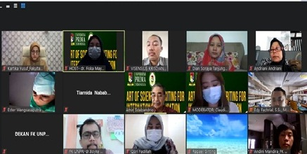 Fakultas Kedokteran  UNPRI menggelar  Virtual workshop