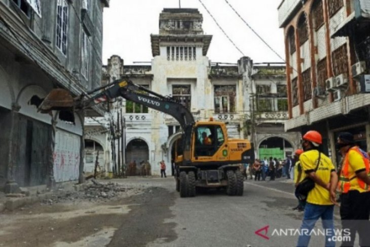 Pemkot Medan beri waktu Pemilik Bangunan ubah bentuk awal Cagar Budaya