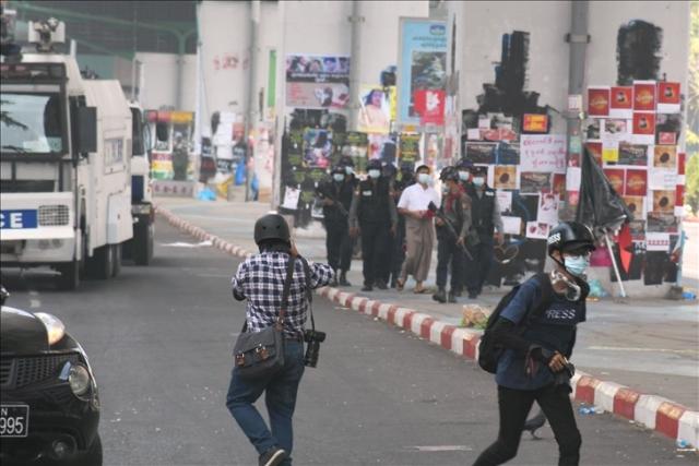 AJI dan kelompok sipil Malaysia desak militer Myanmar bebaskan jurnalis