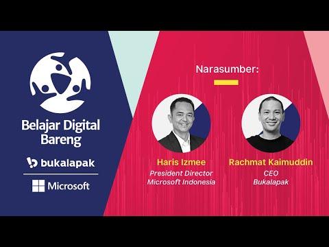 """Program """"Belajar Digital Bareng Bukalapak   Microsoft"""", pelaku UMKM dibekali kemampuan digital untuk pengembangan bisnis"""