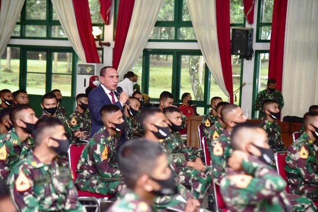Edy Rahmayadi Bocorkan Rahasia Menjadi Jenderal Kepada Taruna Akmil
