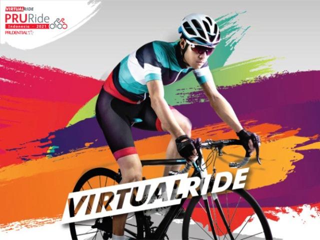Prudential Indonesia Hadirkan PRURide Indonesia sebagai Sportsfest Virtual Terbesar Pertama