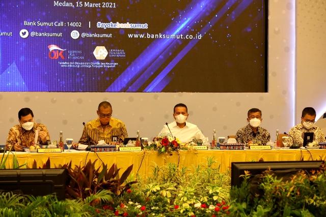 Datuk Syaiful Azhar Komut PT BANK Sumut