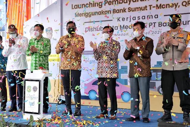 Wali Kota Medan Launching Pembayaran Uji KIR melalui Non Tunai