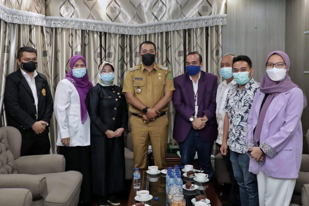 Pemko Medan Berharap IAKMI Mengedukasi masyarakat akan Bahaya Covid-19