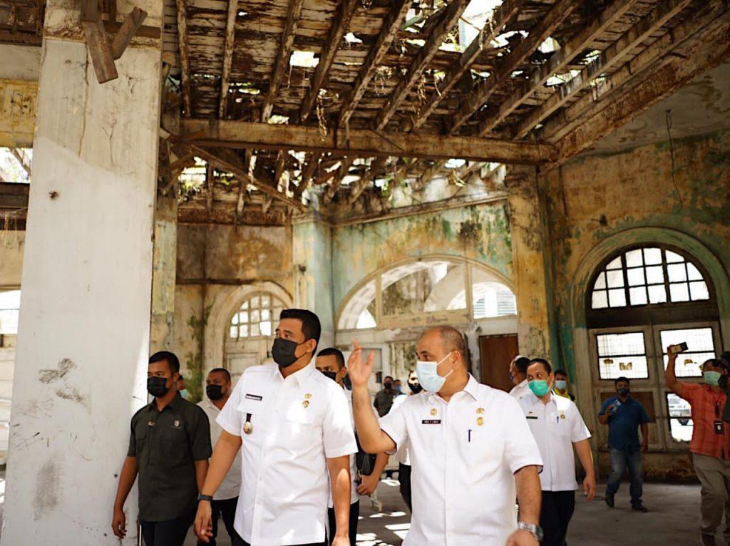Mulai Dari Warenhuis Bobby Nasution Akan Kembalikan Nilai Heritage Kawasan Kesawan