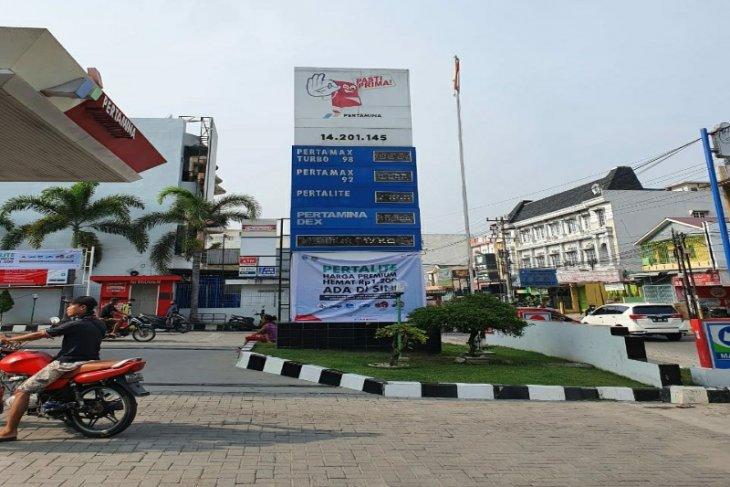 Pertalite dijual seharga premium di Medan, dimana?