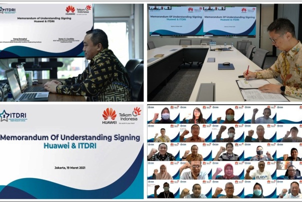 Telkom Gandeng Huawei ASEAN (Indonesia) Academy untuk Bersinergi
