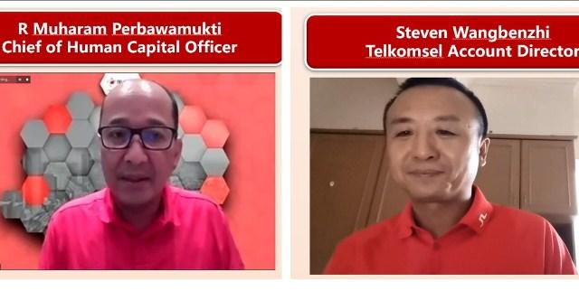 Huawei Indonesia Gandeng Telkomsel Siapkan SDM Unggul  Penggerak Transformasi Digital