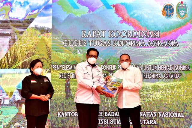 Rakor Gugus Tugas Reforma Agraria