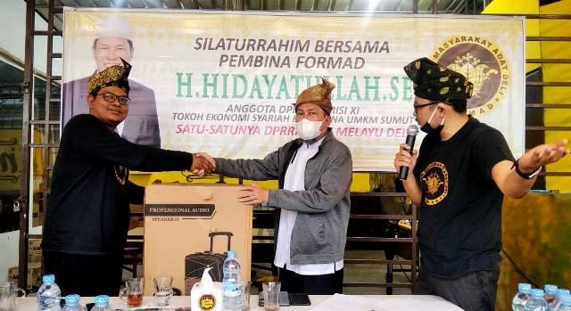 Hidayatullah, Satu-satunya anggota DPR-RI dari Puak Melayu Deli