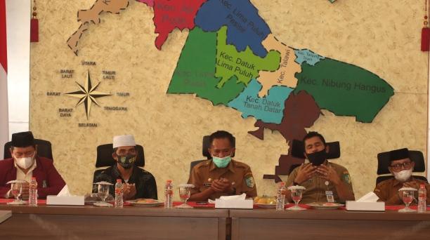 Bupati Batubara Tutup KKN Mahasiswa UISU