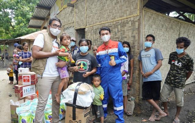 Pertamina Peduli Salurkan Bantuan Pasca Bencana Banjir NTT Lewat Ekspedisi Seroja