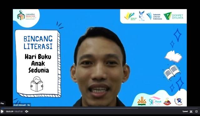 Peringati Hari Buku Anak Sedunia, Sekolah Literasi Indonesia Adakan Bincang Literasi