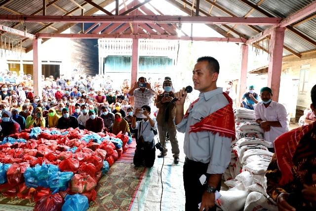 Wagub Sumut Kunjungi Desa Terpencil di Kabupaten Karo