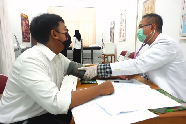 Calon Mahasiswa Kedokteran UISU Antusias Ikuti Ujian CBT