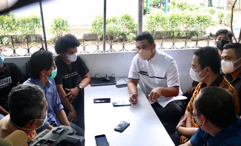 Wali Kota Bobby ke Forum Jurnalis Medan : Kalo Memang Salah Lagi, Koreksi Aja.