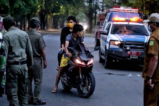Asmara Subuh, Pemko Medan Jaring Puluhan Sepeda Motor