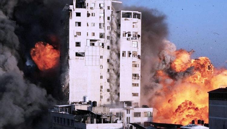 AJI Indonesia Kutuk Serangan Bom Israel ke  Kantor Media sebagai Upaya Pembungkaman
