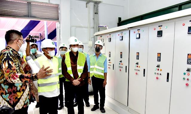 Kejar Target Penuhi Kebutuhan Air Bersih, Edy Rahmayadi Resmikan IPA Denai Kapasitas 240 Liter/Detik