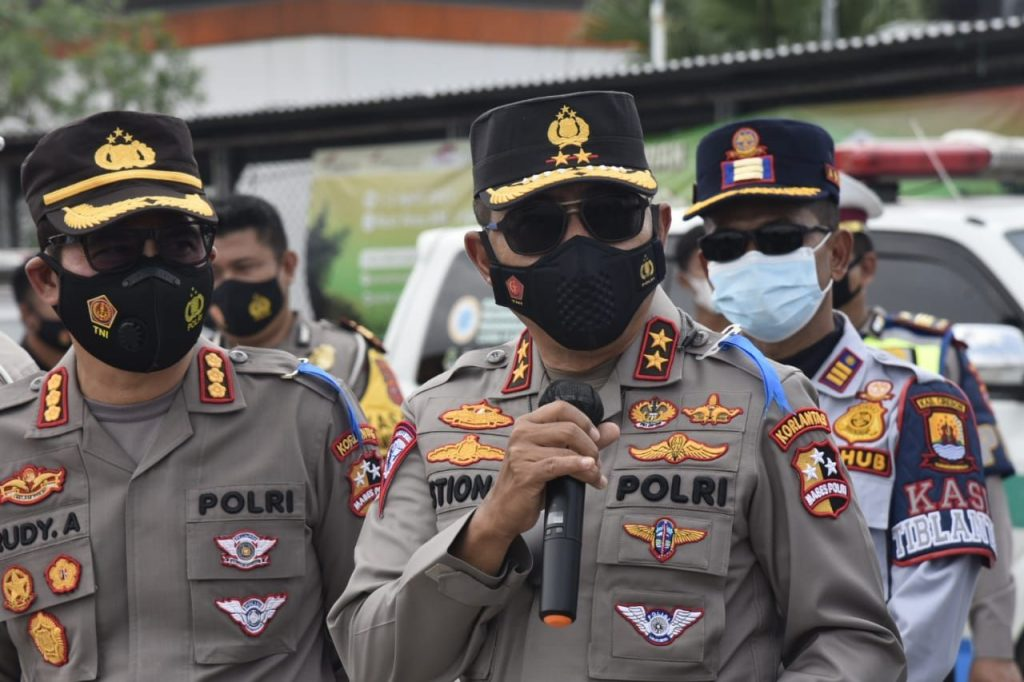 Halau Pemudik, Polri Siapkan 381 Pos Penyekatan. Terbanyak di Pulau Jawa