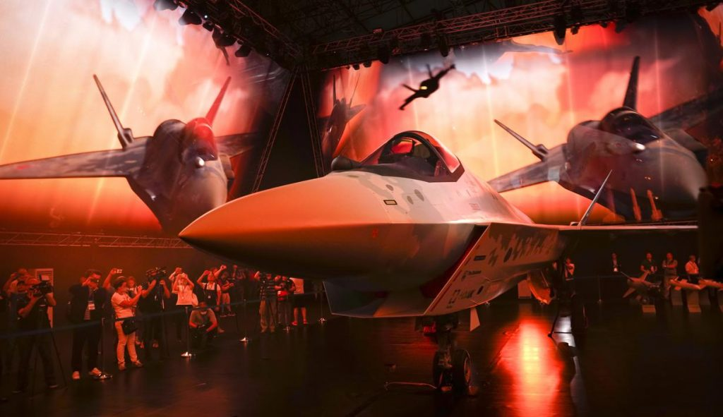 Rusia Perkenalkan Sukhoi Su-75 Checkmate