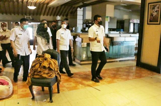 Wali Kota Medan Tinjau Bangunan Ex Hotel Soechi