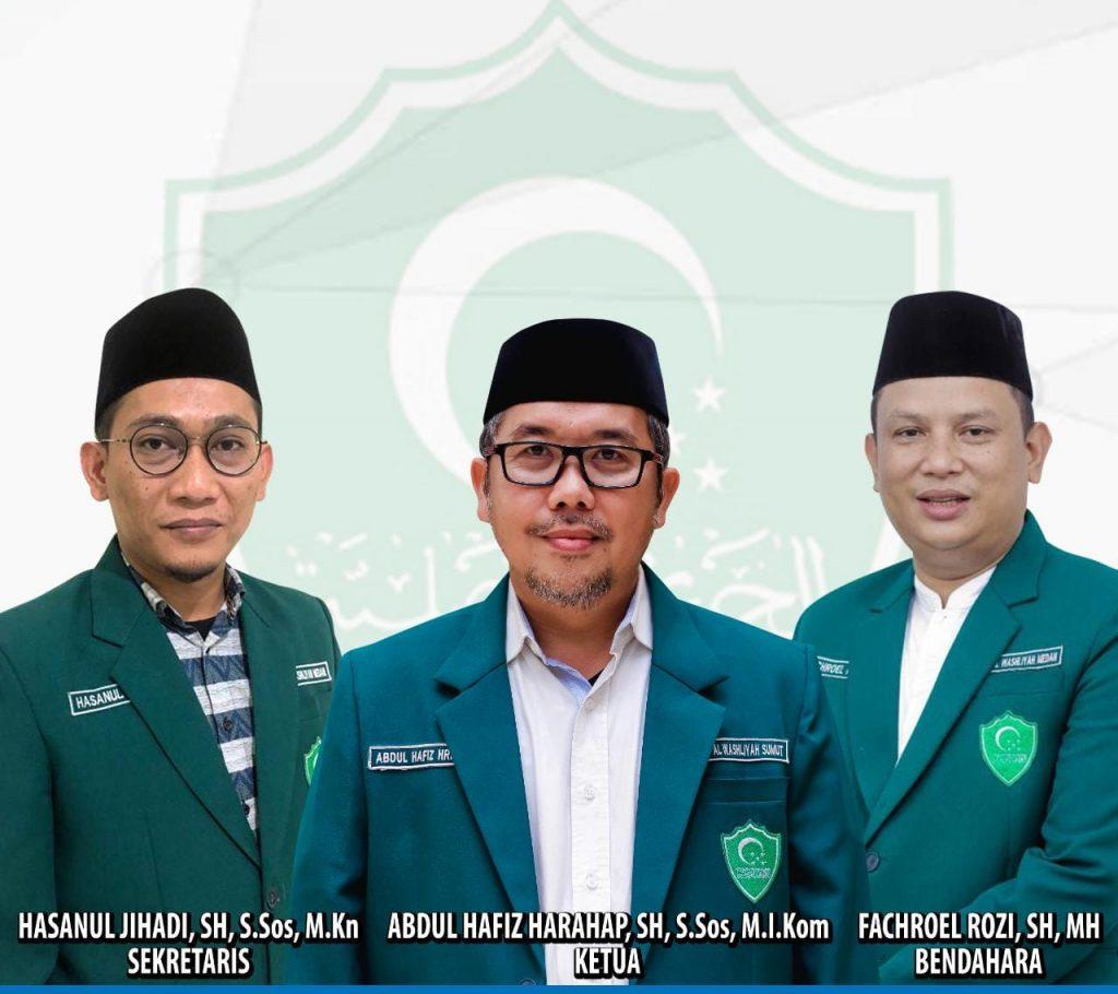 Dukung PPKM, Al Washliyah Medan Gelar Pelantikan Hybrid