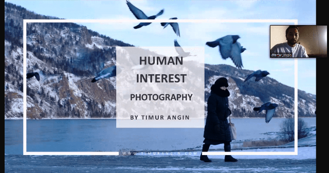 Timur Angin Berbagi Tips Fotografi Human Interest, Yuk Simak!