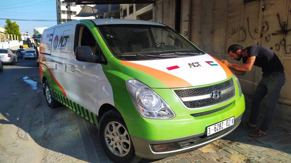 Ambulance Sumbangan Jemaah Mesjid Gubsu Sudah Sampai di Palestina